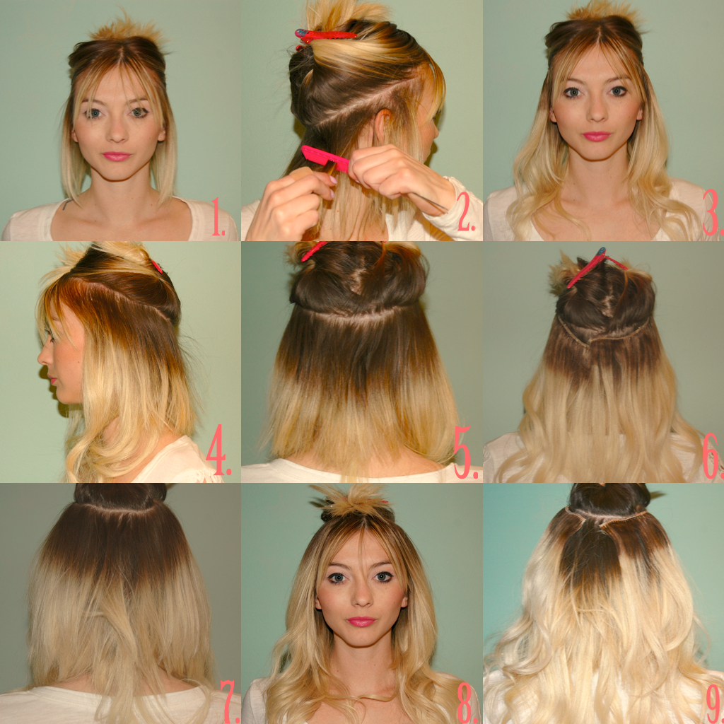 Hair extensions hippiebuddhagirl photo 4 photo 5 advertisements posted in uncategorized tagged extension tutorial extensions hair diy solutioingenieria
