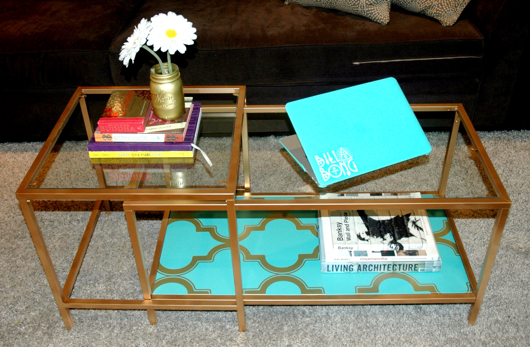 Ikea Coffee Table DIY
